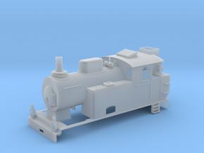 0m SJ K22 loco  in Smooth Fine Detail Plastic: 1:45