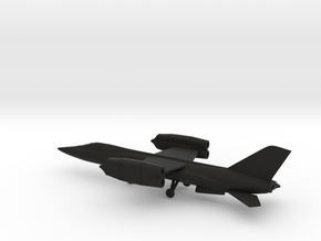 Bell D-188A (XF-109) in Black Natural Versatile Plastic: 1:200