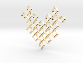 Ck 1404 in 14k Gold Plated Brass