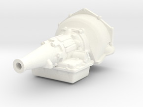 Powerglide 1/12 long tailshaft in White Processed Versatile Plastic