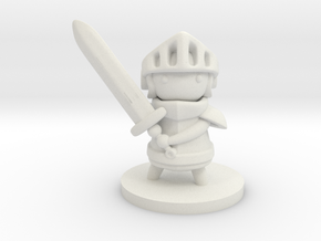 Knight in White Premium Versatile Plastic