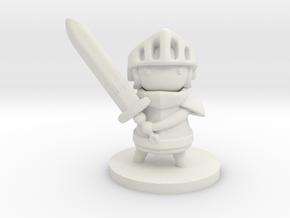 Knight in White Premium Versatile Plastic