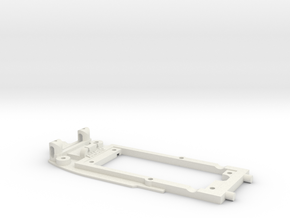 Chassis for Scalextric Ferrari 312 T3 (F1)  in White Natural Versatile Plastic