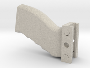 Heavy-Duty Weaver/Picatinny Foregrip in Natural Sandstone