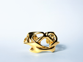 Uranie Ring in 14k Gold Plated
