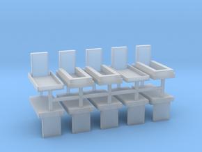 Gräber Set2 10erSet - 1:72 in Smooth Fine Detail Plastic
