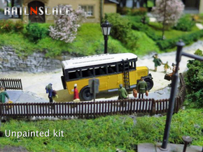 Reichspostbus (N 1:160) in Smooth Fine Detail Plastic