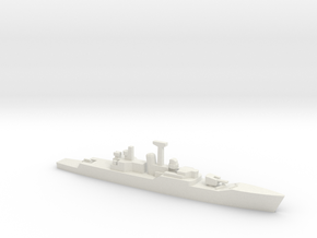 Rothesay-class frigate (1969), 1/1250 in White Natural Versatile Plastic
