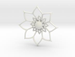 florbella in White Natural Versatile Plastic