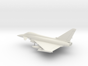Eurofighter EF-2000 Typhoon in White Natural Versatile Plastic: 1:100