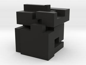 "5 elements for knot cube puzzle ""Large"" in Black Strong & Flexible: Large"