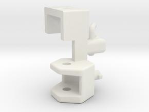 Zugmaul Anhängerkupplung in White Natural Versatile Plastic