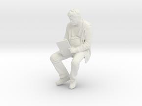 Printle C Homme 1113 - 1/24 - wob in White Natural Versatile Plastic