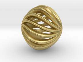 Brilliants A in Natural Brass: Small