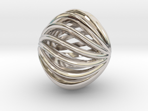 Brilliants A in Rhodium Plated Brass: Small