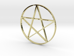 Large Pentagram (Pentacle) in 18k Gold