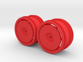Marui Ninja Front Rims in Red Processed Versatile Plastic