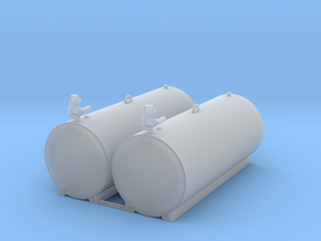 1/64 1000 gallon fuel tank in Smooth Fine Detail Plastic