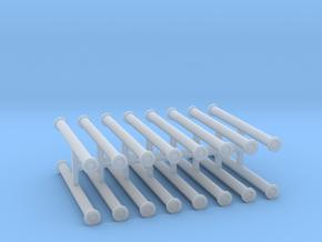 Saugschlauchsatz A 2,5m 4erSet - 1:72 in Smooth Fine Detail Plastic