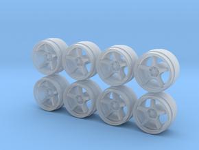 5Z FN01-R Hot Wheels Rims in Smoothest Fine Detail Plastic