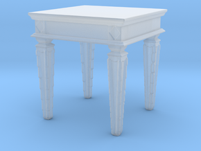 Printle Thing Low Table 01 - 1/72 in Smooth Fine Detail Plastic