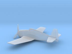 Grumman F6F (w/o landing gears) in Smooth Fine Detail Plastic: 1:200