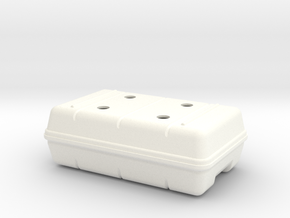 Life Raft square 1/25 (1 pc.) in White Processed Versatile Plastic