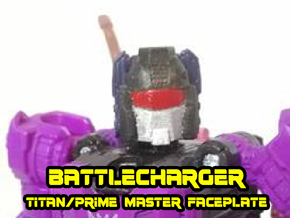 Battlecharger Runabout Face (Titans Return) in Smooth Fine Detail Plastic