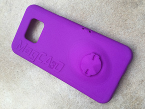 Samsung S7 Edge Garmin Mount Case in Purple Processed Versatile Plastic