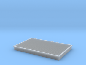 MK vent 35x23mm in Smooth Fine Detail Plastic