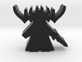 Game Piece, Goddess of Death in Black Natural Versatile Plastic