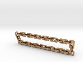 Nitro Zeus Chain, Basic in Polished Brass (Interlocking Parts)