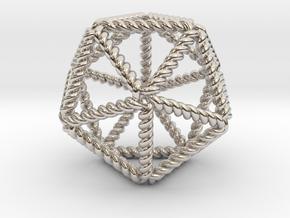 Twisted Icosahedron RH in Platinum