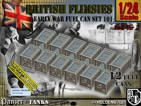1/24 British Flimsies Can Set101 in Smooth Fine Detail Plastic