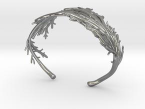 Coral Cuff in Natural Silver