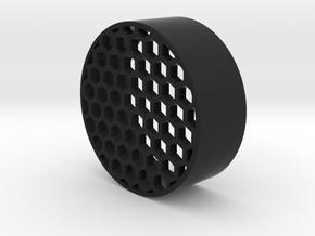 honeycomb kilflash 50mm  in Black Natural Versatile Plastic