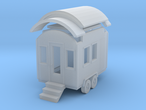 Tiny House #1 - 1:87 Scale Miniature in Smooth Fine Detail Plastic