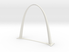 Arch Drawing 19.625 in White Natural Versatile Plastic