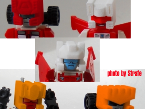 T-bots Robo Helmet Upgrade Set in White Strong & Flexible