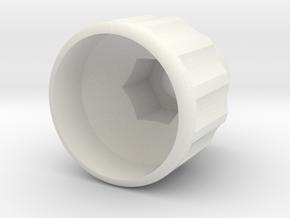 M10 - Sheppach Knob in White Natural Versatile Plastic