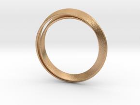 Möbius bracelet in Natural Bronze: Extra Small