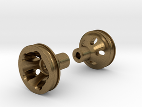 "O-Ring Style Front Wheels .50"" (12.7mm) dia in Natural Bronze"