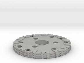 Detailed Chassis Disk in Aluminum