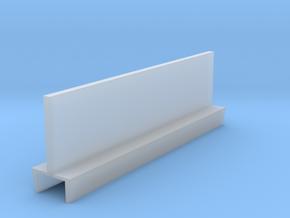 Profil 50mm Waggon-Sitzbank doppelt hoch FUD/FED 1 in Smooth Fine Detail Plastic