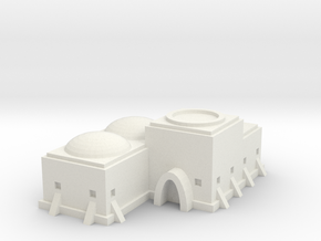 Tatooine Building 1 in White Natural Versatile Plastic
