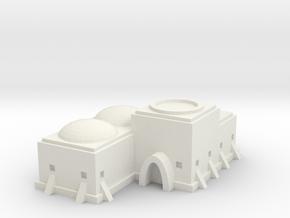 Tatooine Building 1 in White Natural Versatile Plastic