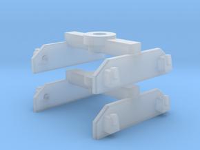Brigadelok tender 0f bogies  in Frosted Ultra Detail: 1:45