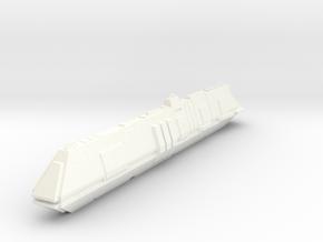 scifi submarine deep shadow 19cm in White Processed Versatile Plastic