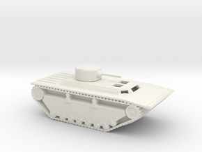 1/87 Scale LVT-4T in White Natural Versatile Plastic