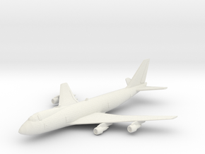 1/600 747-200 in White Natural Versatile Plastic